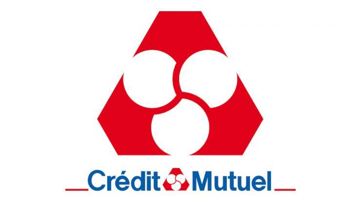 Logo du Crédit Mutuel, un partenaire du Centre équestre Eckwersheim