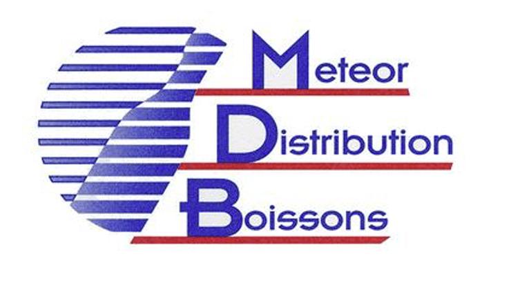 Logo Meteor Distribution Boissons, un partenaire du Centre équestre Eckwersheim