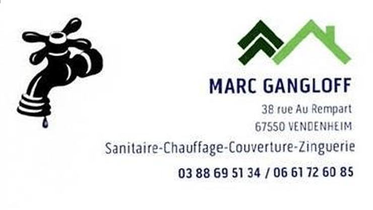 Logo de Marc Gangloff, un partenaire du Centre équestre Eckwersheim