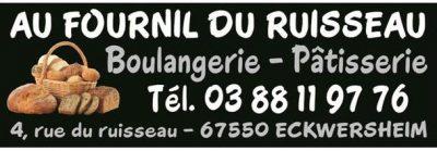 Logo Au fournil du ruisseau, un partenaire du Centre équestre Eckwersheim