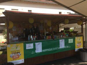 Photo du stand de vente de nourriture et de boisson du centre équestre d'Eckwersheim situé près de Strasbourg
