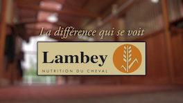 Logo de Lambley, une marque d'alimentation équine utilisée par le Club hippique Eckwersheim pour nourrir ses animaux
