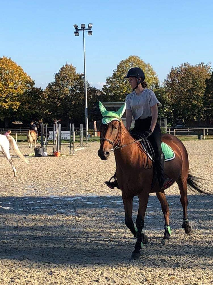 Pratiquer l'équitation à cheval au Club Hippique d'Eckwersheim