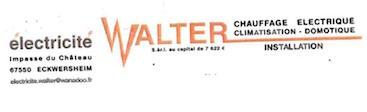 Logo Electricité Walter, un partenaire du Centre équestre Eckwersheim