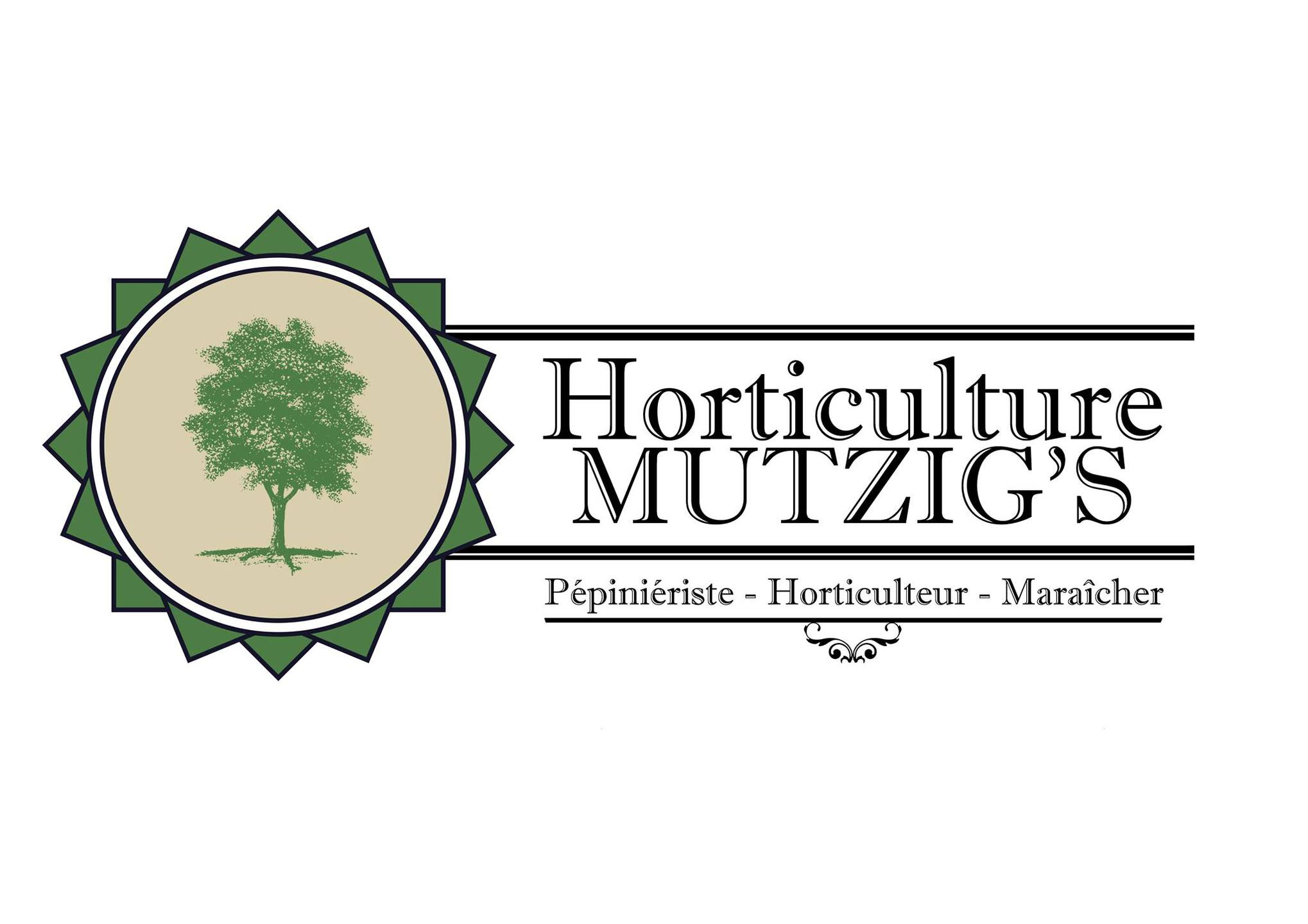 Logo Horticulture Mutzig's, un partenaire du Centre équestre Eckwersheim
