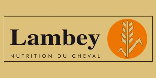 Logo Lambey Nutrition cheval, un partenaire du Centre équestre Eckwersheim
