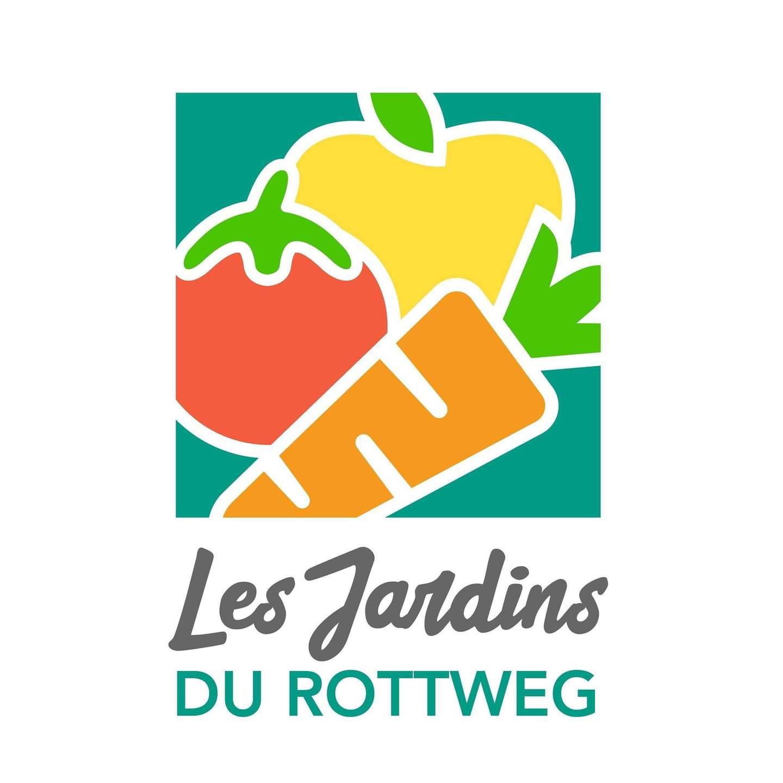 Logo Les Jardins du Rottweg, un partenaire du Centre équestre Eckwersheim